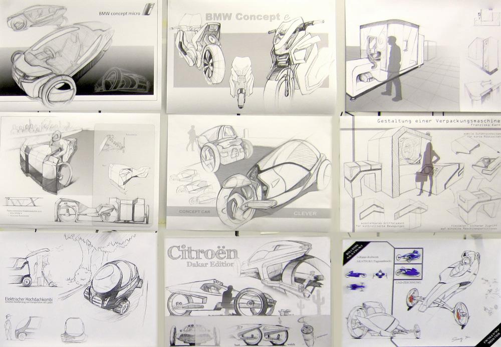 design-sketching-auswahl-abschlussblatter
