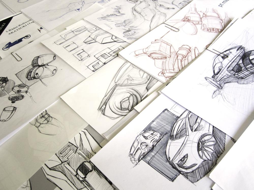 design-sketching-auswahl-mappen