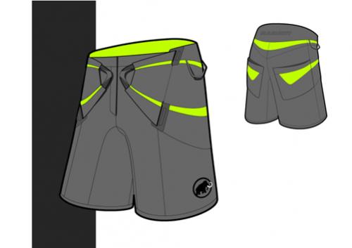 diplom-realization shorts-klettergurt