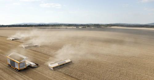 modulares Maschinensystem für die Getreideernte - Entwurf: J. Wolf